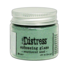 Ranger Distress Embossing Glaze Weathered Wood TDE71051 Tim Holtz
