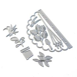 Elizabeth Craft Designs Sidekick Essentials 12 - Scallop Insert 1834