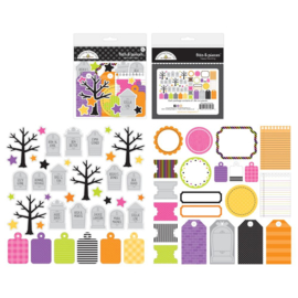 Doodlebug Odds & Ends Bits & Pieces Die-Cuts Happy Haunting preorder