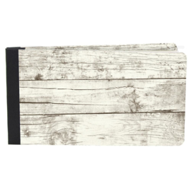 "Simple Stories Sn@p! Flipbook 4""X6"" Whitewashed Wood"