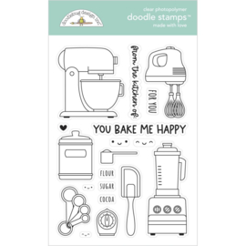 Doodlebug Clear Doodle Stamps Made With Love