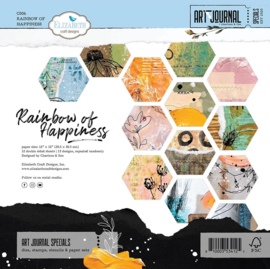 Elizabeth Craft Designs Rainbow of Happiness C006