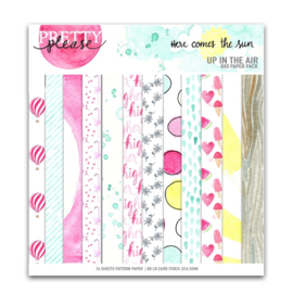 Pretty Little Studio Paper Pack | Up in the Air 8x8