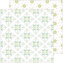 """PinkFresh Happy Blooms Double-Sided Cardstock 12""""X12"""" Together Preorder"""