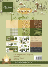 Marianne D Paper pad De natuur in By Marleen PK9176 A5