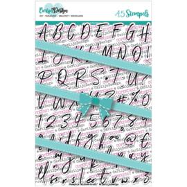 Carlijn Design Stempels Alfabet brush