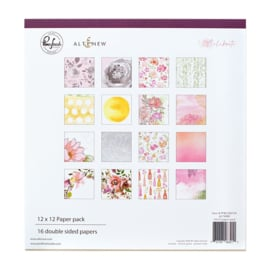 "Pinkfresh Studio Double-Sided Paper Pack 12""X12"" 16/Pkg Celebrate, 8 Designs/2 Each"