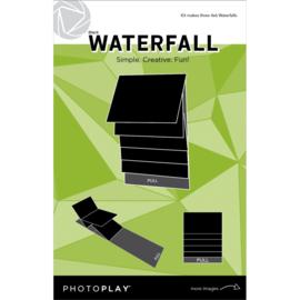"PhotoPlay Maker Series 4""x6"" Mechanical Black Waterfall"