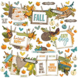 """Simple Stories Simple Vintage Country Harvest Cardstock Stickers 12""""X12"""" Banner"""