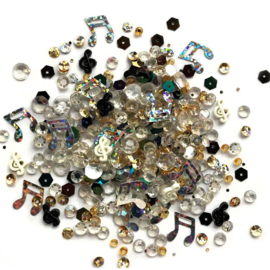 Buttons Galore Sparkletz Embellishment Pack 10g Concerto
