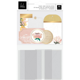 Heidi Swapp Storyline Chapters Tags & Pockets 15/Pkg preorder