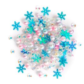 Buttons Galore Sparkletz Embellishment Pack 10g Glacier