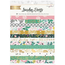 """American Crafts Single-Sided Paper Pad 6""""X8"""" 24/Pkg Maggie Holmes Garden Party PREORDER"""