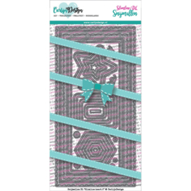 Carlijn Design Snijmallen DL Slimline kaart 2
