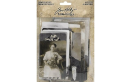 Idea-ology Tim Holtz Found Relatives (45pcs) (TH93798)