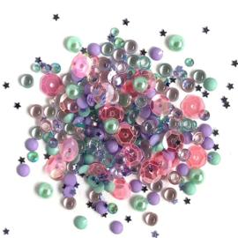 Buttons Galore Sparkletz Embellishment Pack 10g Mermaid