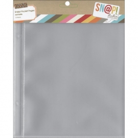 "Sn@p! Pocket Pages 6""X8"" Binders 10/Pkg"