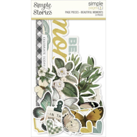 Simple Stories Simple Pages Page Pieces Beautiful Moments, Weathered Garden preorder