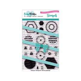Carlijn Design Stempels Kerstpost