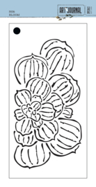 Elizabeth Craft Designs Bloom S036 stencil