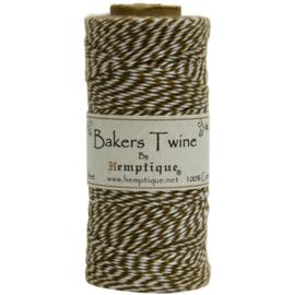 Hemptique Cotton Baker's Twine Spool 2-Ply 410' Light Brown