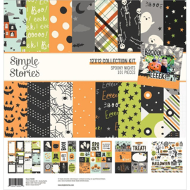 """Simple Stories Collection Kit 12""""X12"""" Spooky Nights preorder"""