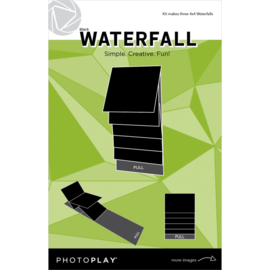 "PhotoPlay Maker Series 4""x4"" Mechanical Black Waterfall"
