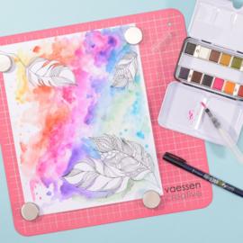 Vaessen Creative • Work Easy magnetisch werkblad 30,5x30,5cm