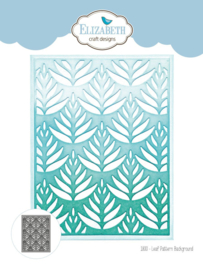 Elizabeth Craft Designs Leaf Pattern Background 1800