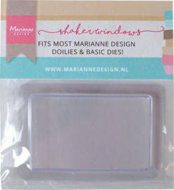 Marianne D Shaker windows - Rechthoek 5,7x9 cm - 10 st LR0039