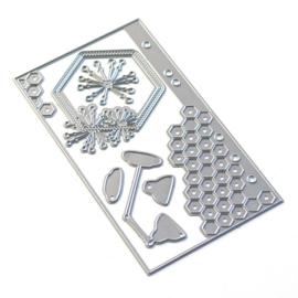 Elizabeth Craft Designs Sidekick Essentials 13 - Hexagon Insert 1835