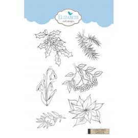 Elizabeth Craft Designs Christmas Garden CS155