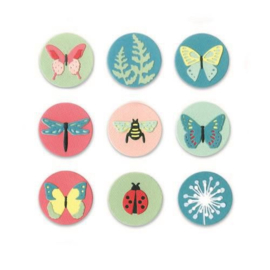 Sizzix Thinlits Die Set - 10PK Tiny Nature 663590 Lynda Kanase