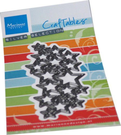 Marianne D Craftable Art textuur - Sterren CR1559