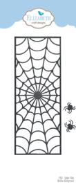 Elizabeth Craft Designs Spider Web Slimline Background 1910