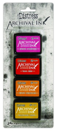 Ranger Distress Archival Mini Ink Kit 1 AITK64855 Tim Holtz