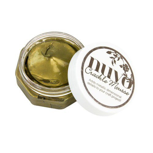 Nuvo Crackle Mousse - Egyptian Gold 1398N