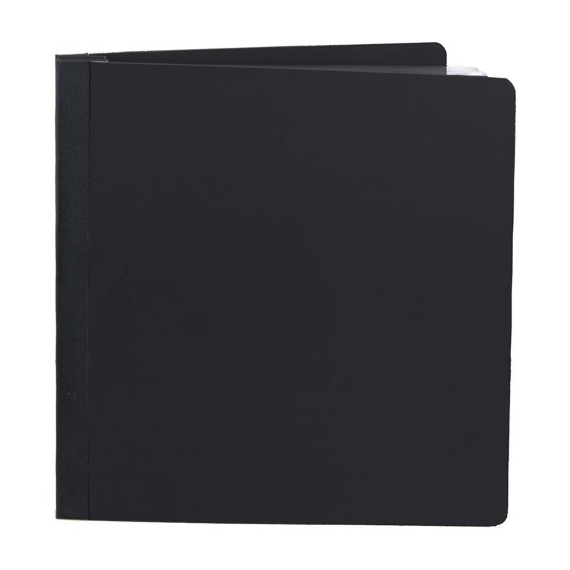 """Simple Stories Sn@p! Flipbook 6""""X8"""" Black"""