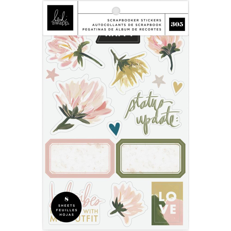Heidi Swapp Storyline Chapters Mini Sticker Book The Scrapbooker preorder