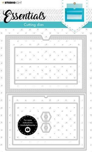Studio Light Cutting Die Cardshape Essentials nr.16 SL-ES-CD16