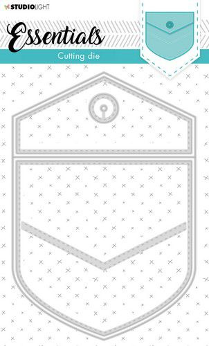 Studio Light Cut.& Emb. Die Cardshape Essentials nr.367 STENCILSL367