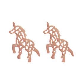 Oorbellen Chirurgisch staal Unicorn