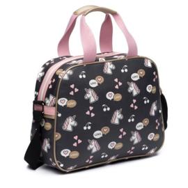Zebra kidsbag - Unicorn Love (L)