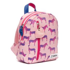 Zebra rugzakje - Zebra Pink (S)