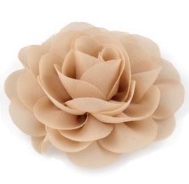Haarbloem groot stof bloem zand
