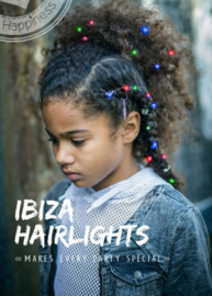 Ibiza Hairlights - Red-blue-green