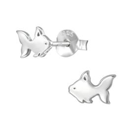 Kinderoorbellen Sterling zilver 925 Vissen