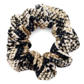 Haarelastiekjes scrunchie snake