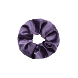 Haarelastiekjes velvet scrunchie paars