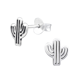 Oorbellen Sterling zilver 925 Cactus
